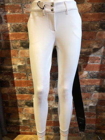 Cavalleria Toscana Racket Grip Breeches from AJ's Equestrian Boutique, Hertfordshire, England