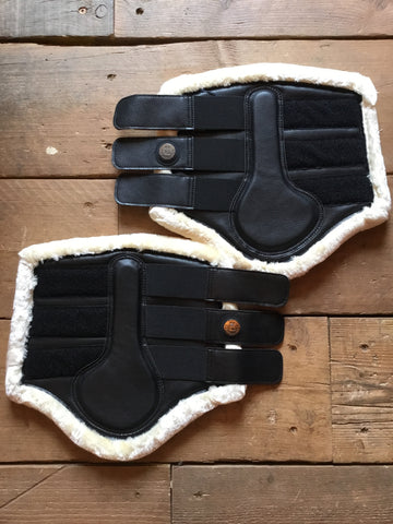 Kingsland Juan Protection Boots Pair from AJ's Equestrian Boutique, Hertfordshire, England