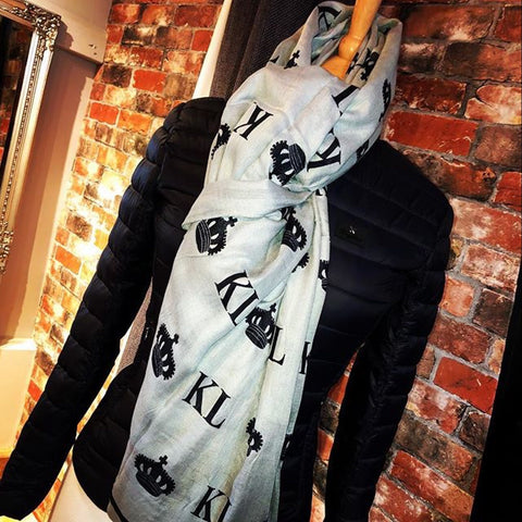 Kingsland St Marys Woven Scarf from AJ's Equestrian Boutique, Hertfordshire, England