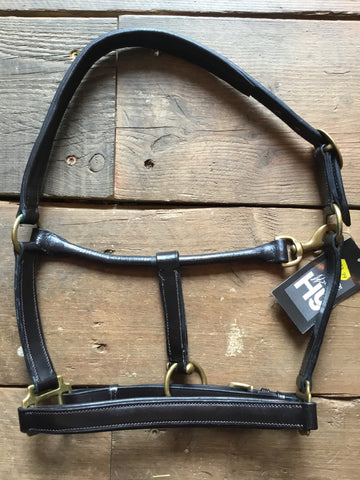 Hy Leather Headcollar from AJ's Equestrian Boutique, Hertfordshire, England