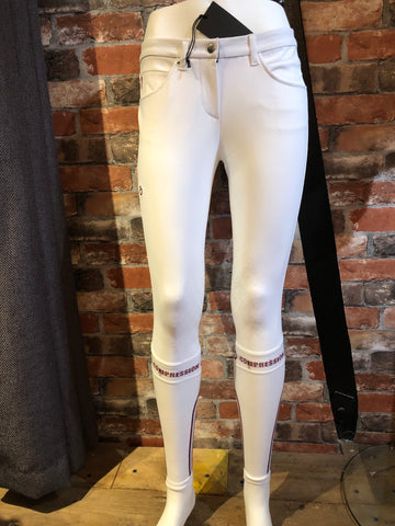 Cavalleria Toscana Compression Breeches from AJ's Equestrian Boutique, Hertfordshire, England
