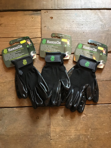 Hands On Grooming/Bathing Gloves from AJ's Equestrian Boutique, Hertfordshire, England
