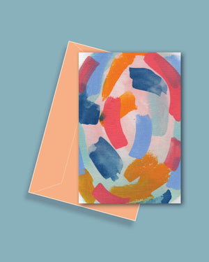 Pastel Nest Greeting Card
