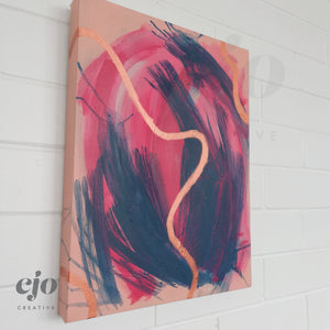 Lifeline | Original Artwork on Canvas by Courtney Stafford