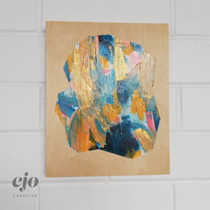 On the Inside | Original Artwork on Wood by Courtney Stafford