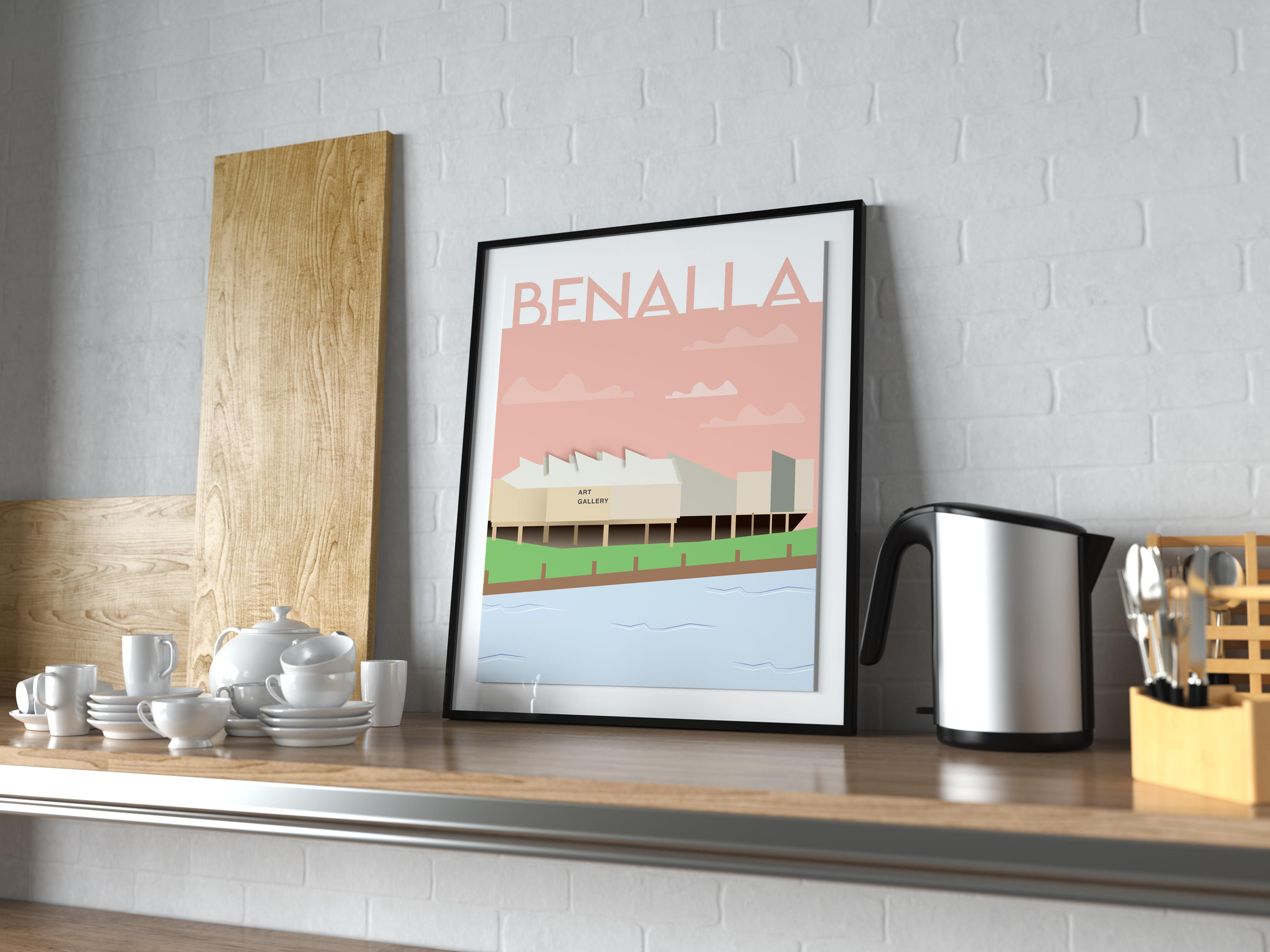 Homage to Home Benalla Art Gallery Print