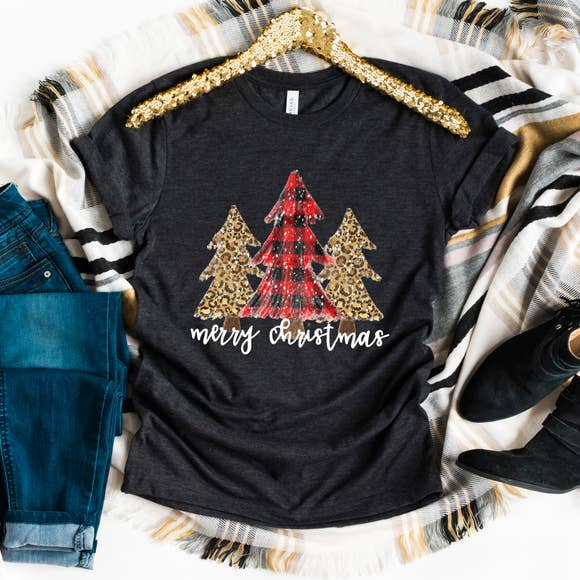 Joyful Moose Holiday Tee