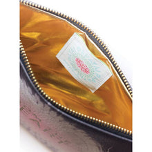Papaya Pocket Clutch