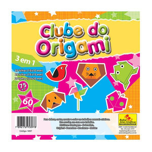 Papel Criativo Clube do Origami 60FL BRBA-7167