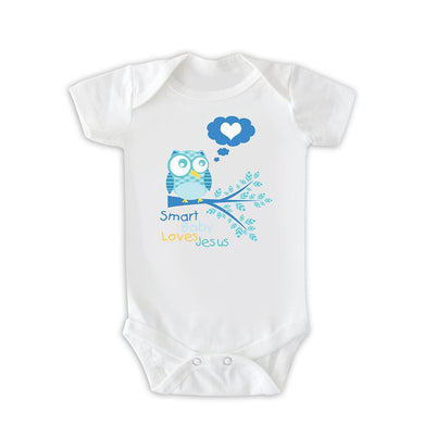 Body  Smart Baby Loves Jesus CG-BD-0112-AZ-ING