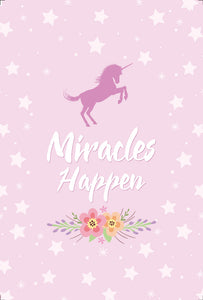 Poster Miracles Happen Unicórnio All The Tribes CG-1587