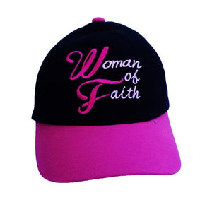 Boné Woman of Faith CG-BN-0126-ING-PR-RS