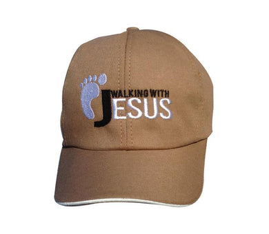 Boné Walking with Jesus CG-BN-0134-MR-MR
