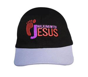 Boné Walking with Jesus CG-BN-0134-PR-LI