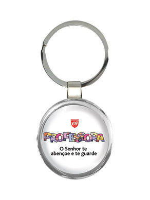 Chaveiro Professora Pop Art CG-KM-0615
