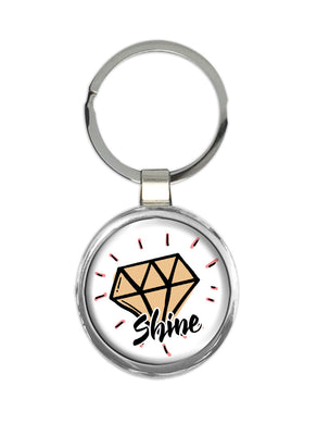 Chaveiro Diamante Shine All The Tribes CG-KM-1593
