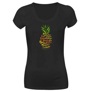 Camiseta Fruto do Espírito Femenina CG-LL-1291-PR (Long Look)