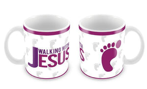 Caneca Walking with Jesus CG-MG-0134