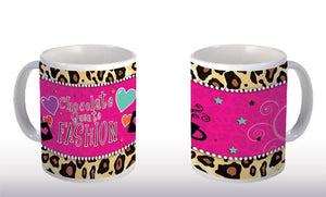 "Caneca ""Chocolate Quente Fashion"" CG-MG-0258"
