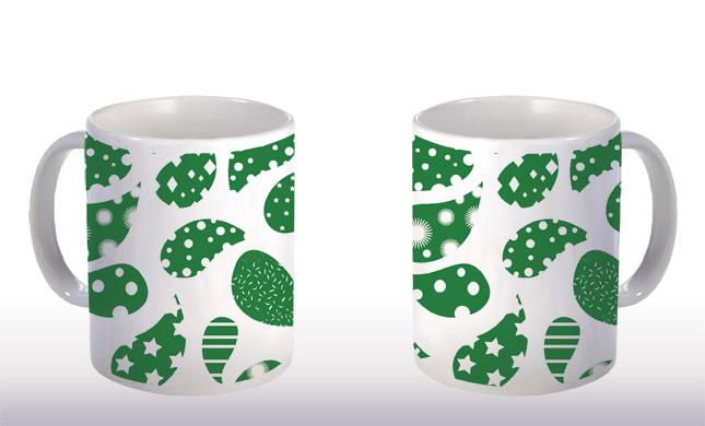 Caneca Home Decor Abs Verde CG-MG-0284