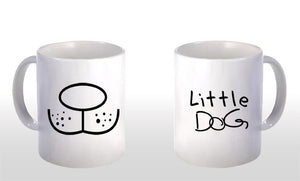 "Caneca ""Little Dog"" CG-MG-0319"