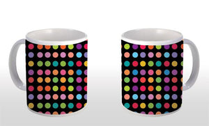 "Caneca ""Color Dots"" CG-MG-0360"