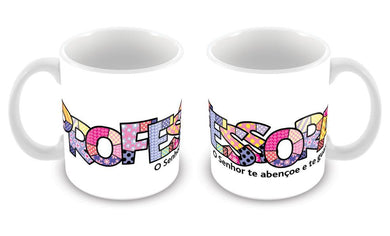 Caneca Professora Pop Art CG-MG-0615