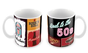 "Caneca ""Back to the 50's"" CG-MG-0717-C"