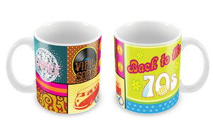 "Caneca ""Back to the 70's"" CG-MG-0718-C"