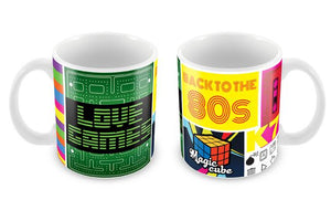 "Caneca ""Back to the 80's"" CG-MG-0719-C"