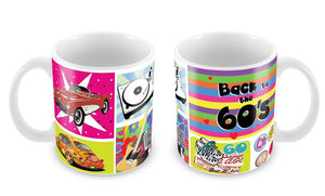 "Caneca ""Back to the 60's"" CG-MG-0721-C"