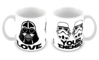 Caneca Vader Love Your Enemies CG-MG-1196