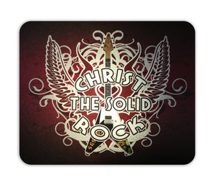 Mouse Pad Metalizado Crist the Solid Rock CG-MP-0096B