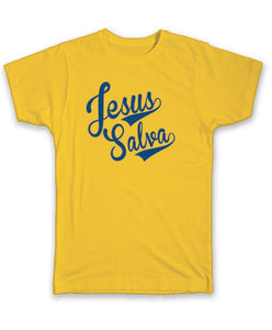 Camiseta Infantil Jesus Salva TI-1138-AM (T-Shirt)