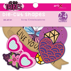 Die Cuts Linha All the Tribes DC-AT-01 24pçs