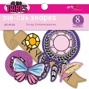 Die Cuts Linha All the Tribes DC-AT-02 8pçs