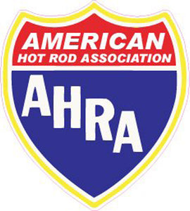 Adesivo American Hot Rod Association AHRA #AD-1011