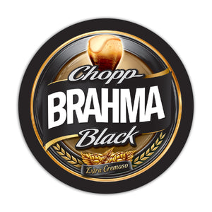 Placa MDF Chopp Brahma black MD26-RP-3064
