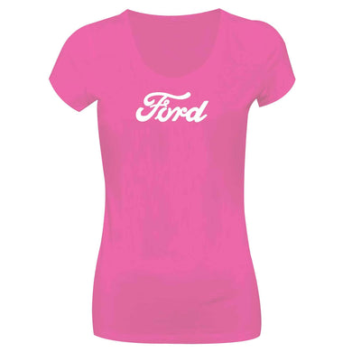 Camiseta Ford Long Look LL-0031-PINK