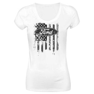 Camiseta Ford Long Look LL-0032-BR