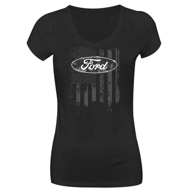 Camiseta Ford Long Look LL-0032-PR