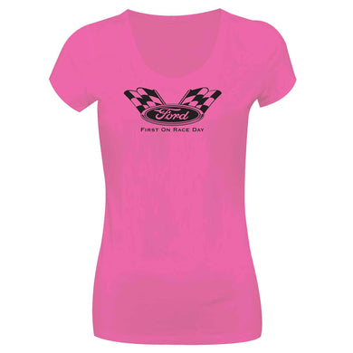 Camiseta Ford Long Look LL-0035-PINK