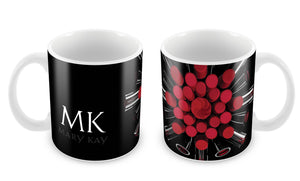 Caneca MK Make Red MG-0246