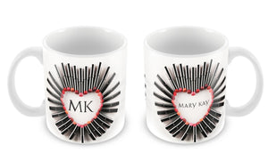 Caneca MK Mary Kay Make White MG-0247