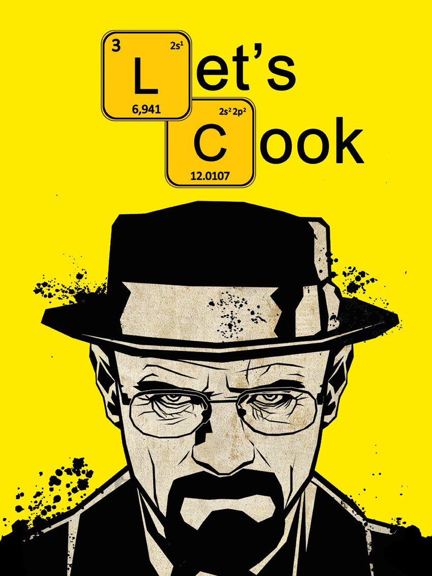 Poster Let's Cook #RP-8041