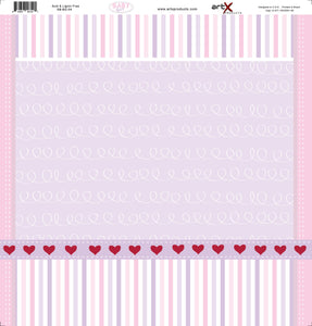 Papel Scrap Book Bebe Baby Girl SB-BG-04