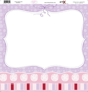 Papel Scrap Book Bebe Baby Girl SB-BG-05
