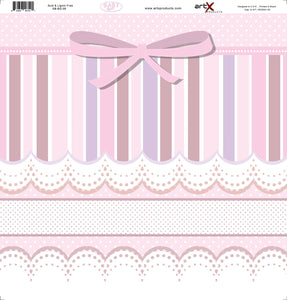 Papel Scrap Book Bebe Baby Girl SB-BG-06
