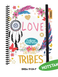 Agenda Capa Dura All The Tribes BRBA-9104-F