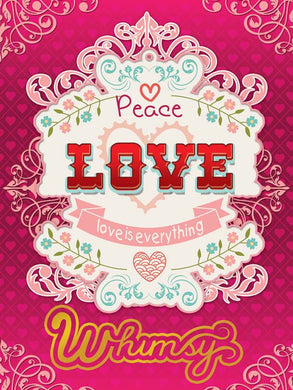 Poster Love Peace LoveEverything  Capricho XX06442CP